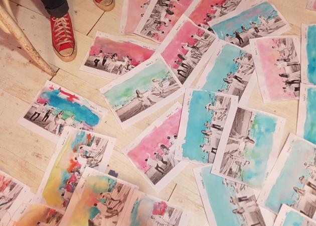 Ένα διαφορετικό video clip με… 880 εικόνες ζωγραφισμένες στο χέρι! [pics,vid] | tlife.gr