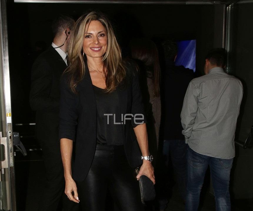 Κατερίνα Λάσπα: Chic εμφάνιση σε νυχτερινό κέντρο! [pics] | tlife.gr