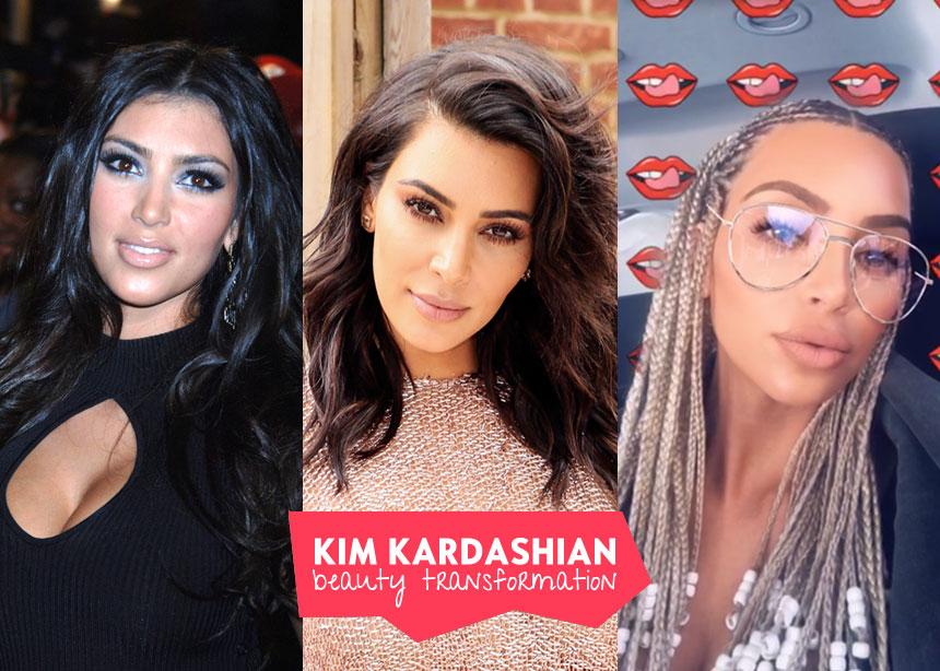 Η απίστευτη μεταμόρφωση της Kim Kardashian μέσα από 33 photo! | tlife.gr