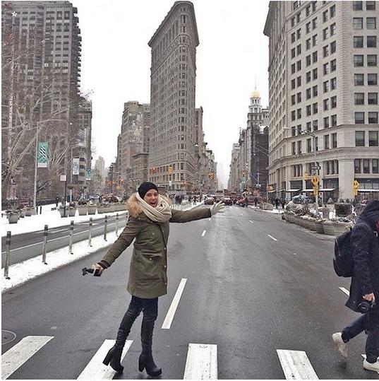 Λάουρα Νάργες: Νέες φωτογραφίες από το μαγικό ταξίδι στη Νέα Υόρκη με τον Μιχάλη Μουρούτσο! | tlife.gr