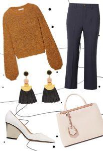 Lux knitwear & tartan look