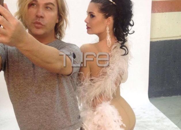 Μαρία Κορινθίου: Οι σέξι πόζες της και η μεταμόρφωσή της από τον Τρύφωνα Σαμαρά! Φωτογραφίες | tlife.gr