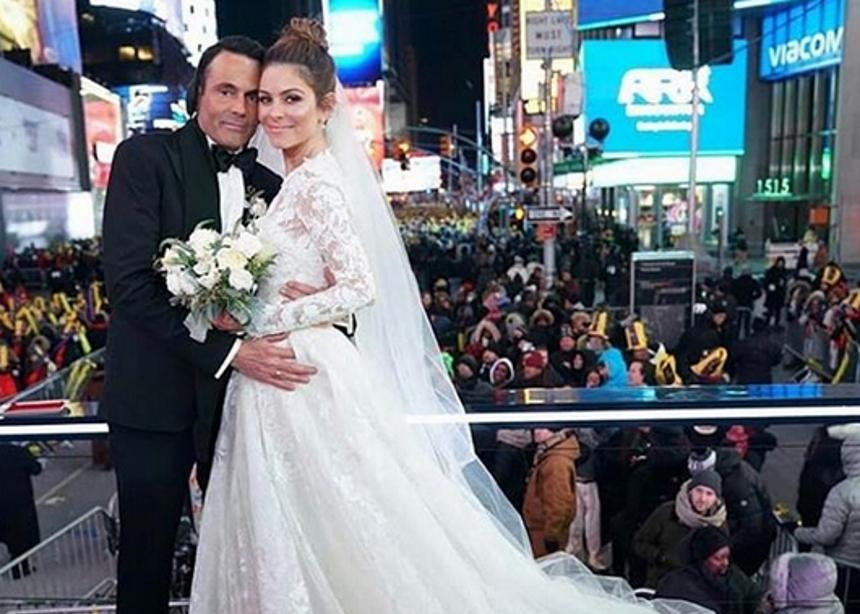 Μαρία Μενούνος: Η τρυφερή φωτογραφία με την μητέρα της από το γάμο της στην Times Square!