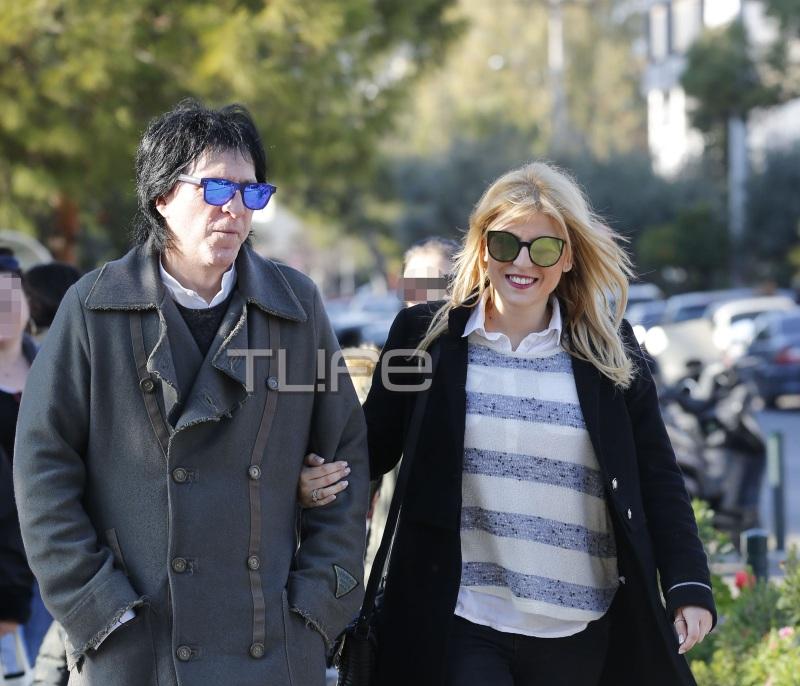 Μιχάλης Τσαουσόπουλος – Φραντζέσκα Παραρά: Βόλτα στη Γλυφάδα για το νιόπαντρο ζευγάρι! [pics] | tlife.gr