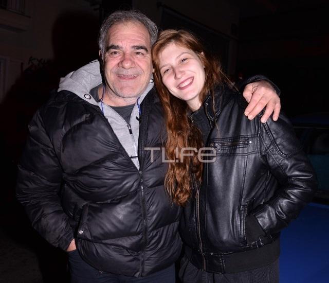 Γιάννης Μποσταντζόγλου: Με την όμορφη κόρη του στο θέατρο! [pics] | tlife.gr