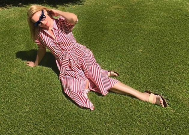 Τατιάνα Στεφανίδου: Οι πλεξίδες που της έφτιαξε η Λυδία και οι όμορφες εικόνες των διακοπών!