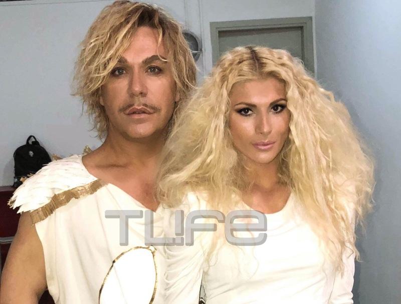Όλγα Πηλιάκη: Ποζάρει με Τρύφωνα Σαμαρά και Βασίλειο Κωστέτσο για διαφημιστική καμπάνια! Backstage φωτογραφίες | tlife.gr