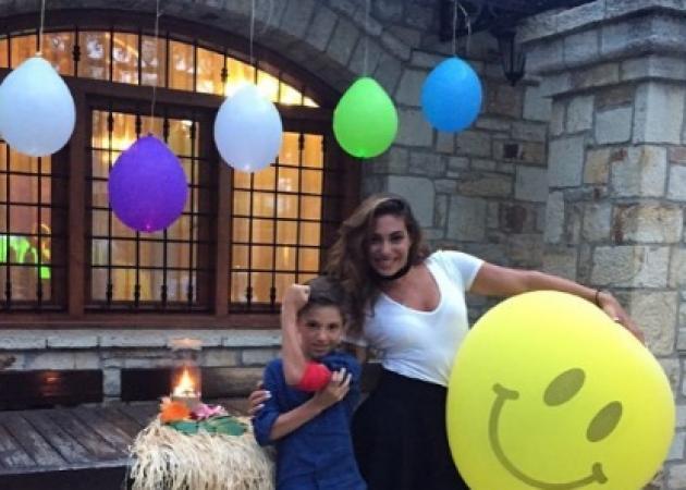 Ευριδίκη Βαλαβάνη: Στα γενέθλια του γιου του Λάμπρου Χούτου! [pics,vid] | tlife.gr