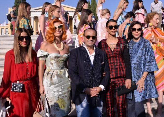 Οι celebrities στο fashion show του Βασίλη Ζούλια στο Ζάππειο! [pics] | tlife.gr