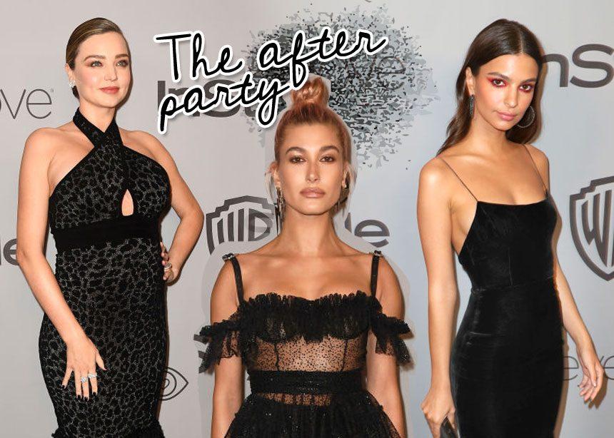 Χρυσές Σφαίρες: Τι φόρεσαν οι διάσημες στο after party; | tlife.gr