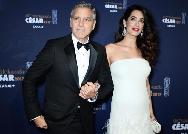 Amal Alamuddin – George Clooney: Εκείνη πιο όμορφη από ποτέ και εκείνος… αγνώριστος δύο μήνες μετά την γέννηση των διδύμων! [pics] | tlife.gr