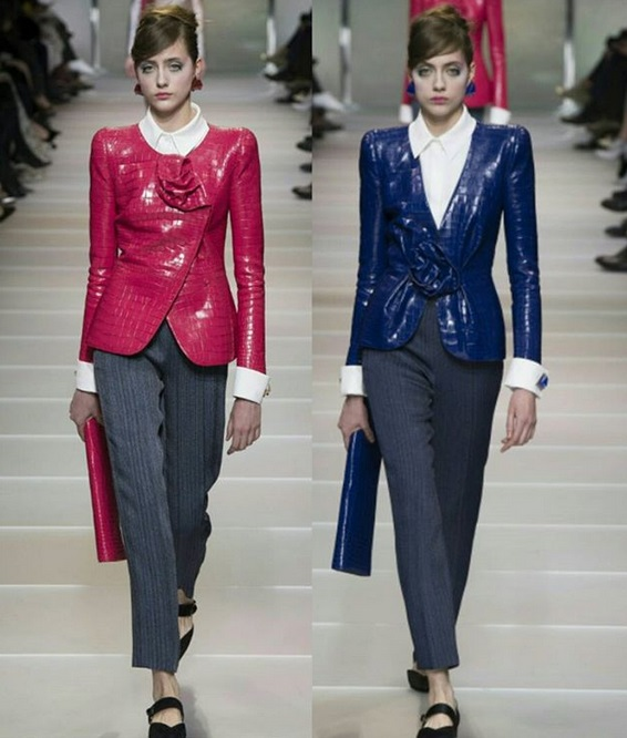 5708cdfd1217 Armani Privé – Givenchy  Οι δύο μεγάλοι οίκοι παρουσίασαν τις ...