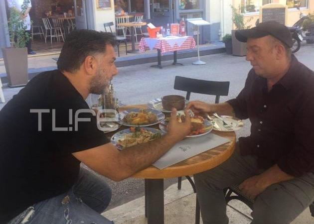 Γρηγόρης Αρναούτογλου: Πού τρώει μεζέδες με τον Έκτορα Μποτρίνι; [pics,vid]
