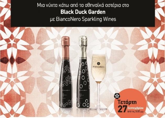 Black n White party με τα αφρώδη κρασιά BiancoNero!