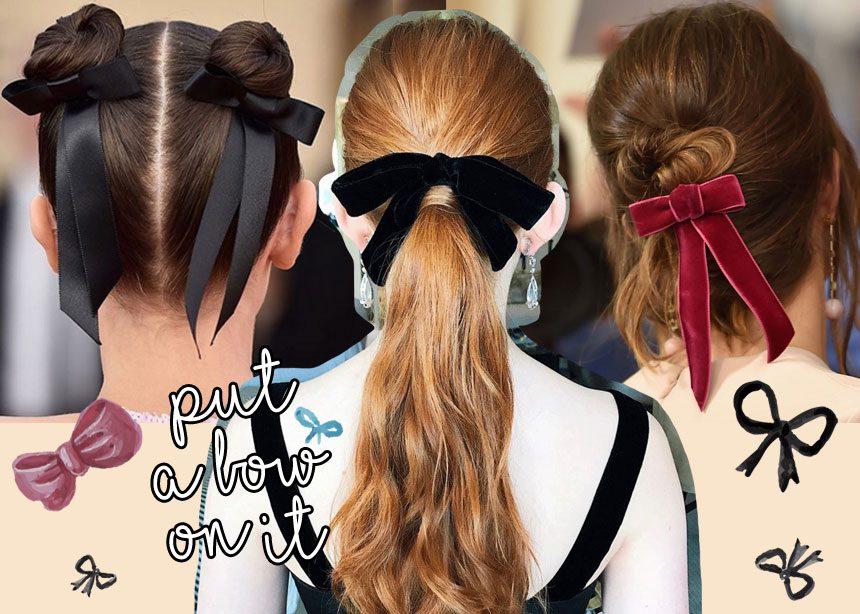 Η κορδέλα στα μαλλιά είναι το πιο ενημερωμένο «πράγμα» που μπορείς να φορέσεις τώρα! 10 διάσημες σου δείχνουν πώς! | tlife.gr