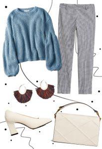 Knitwear & tartan look