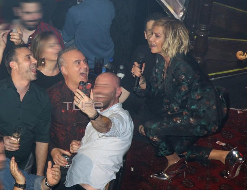 Φώτης Σεργουλόπουλος: Τα «έσπασε» με την παρέα του στην Άννα Βίσση! [pics,vid] | tlife.gr