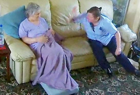Σοκαριστικό βίντεο: Η νοσοκόμα χτυπάει την ηλικιωμένη γυναίκα που φροντίζει όταν μένουν μόνες στο σπίτι!   tlife.gr