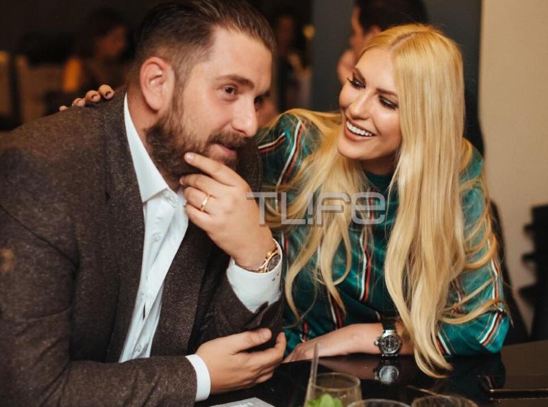Ίνα Παλαμά: Σπάνια βραδινή εμφάνιση για την καλλονή με τον σύζυγό της, γιο της αείμνηστης Δούκισσας! [pics] | tlife.gr