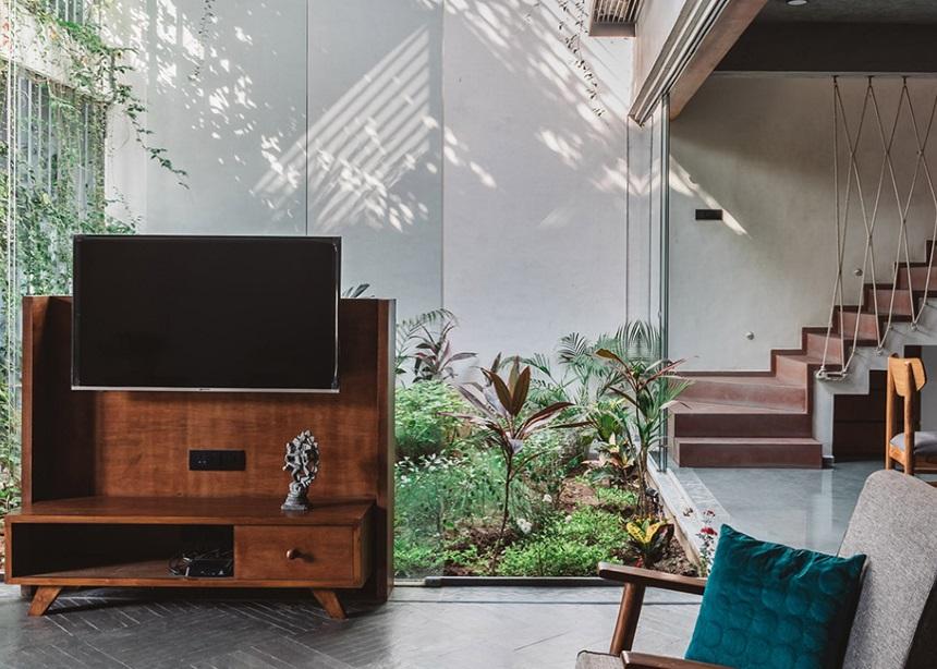 Jungalow home: Η μονοκατοικία που δημιουργήθηκε γύρω από ένα… βοτανικό κήπο! | tlife.gr
