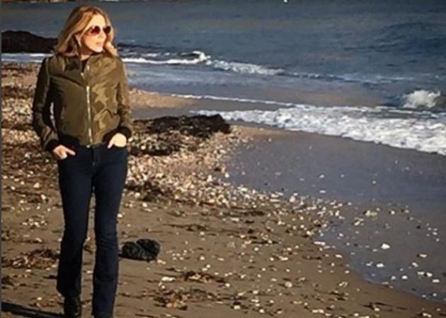 Σμαράγδα Καρύδη: Οι χειμερινές εξορμήσεις στην Αίγινα και στο βουνό! | tlife.gr