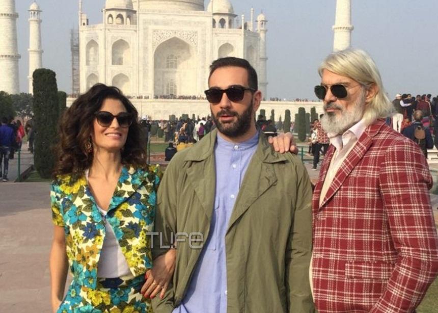 Νίκος Κοκλώνης: Εξερευνά την Ινδία με τους Δωροθέα Μερκούρη, Μάνο Πίντζη και Τρύφωνα Σαμαρά! Φωτογραφίες | tlife.gr