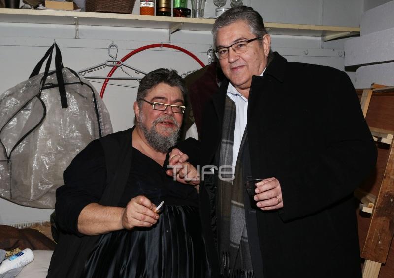 Σταμάτης Κρανουνάκης: Επίσημη πρεμιέρα με τον Γ.Γ. του ΚΚΕ, Δημήτρη Κουτσούμπα! [pics] | tlife.gr