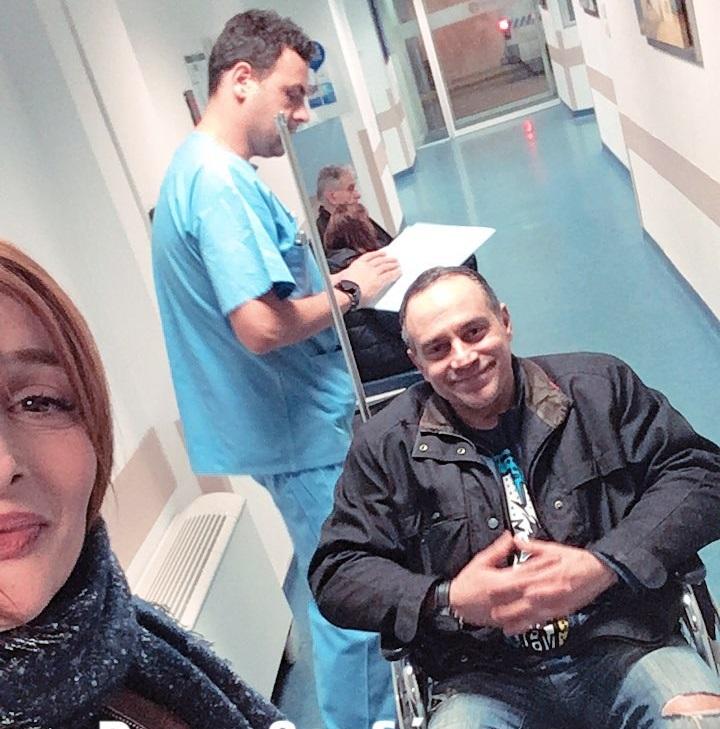 Η Μαρία Κωνσταντάκη συνόδευσε στο νοσοκομείο τον Κρατερό Κατσούλη [pics,vid] | tlife.gr
