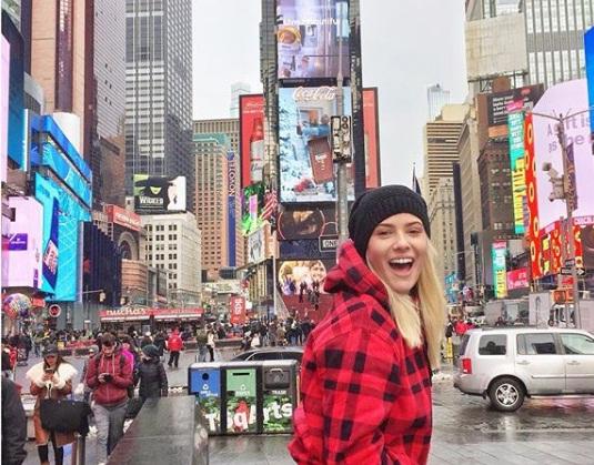 Λάουρα Νάργες: Θυμάται τις καλύτερες στιγμές από τη Νέα Υόρκη! [pics] | tlife.gr