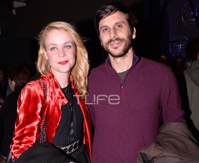 Λένα Παπαληγούρα: Με τον σύντροφό της σε θεατρική παράσταση! | tlife.gr