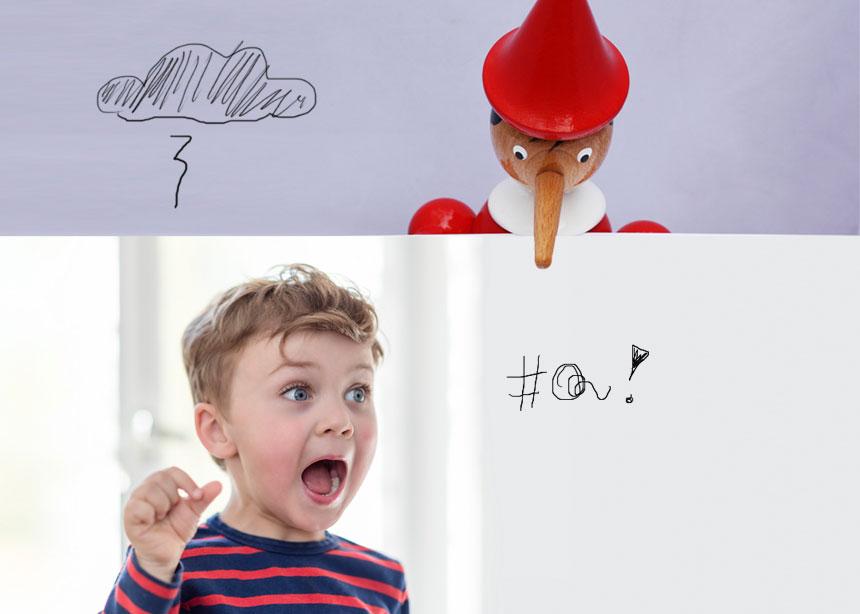 Ήξερες ότι είναι φυσιολογικό το παιδί να λέει ψέματα; | tlife.gr