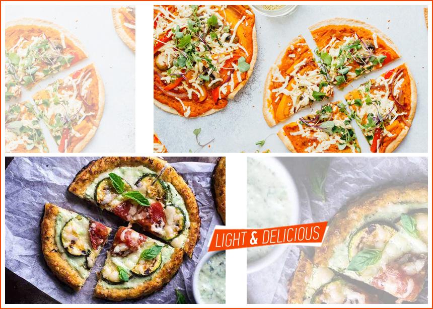 Συνταγές για ελαφριές πίτσες: Το αγαπημένο μας junk food με λιγότερο από 300 θερμίδες | tlife.gr