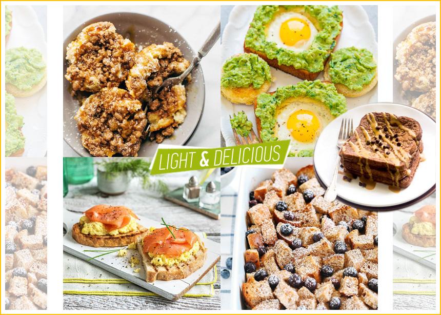 Συνταγές για δίαιτα: Εύκολα και ιδιαίτερα πιάτα με ψωμί του τοστ | tlife.gr