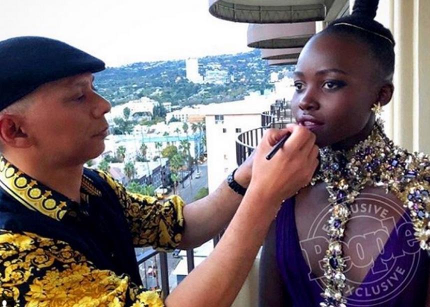 Το μακιγιάζ της Lupita Nyong'o είναι το σημερινό θέμα beauty συζήτησης! Πώς έγινε! | tlife.gr