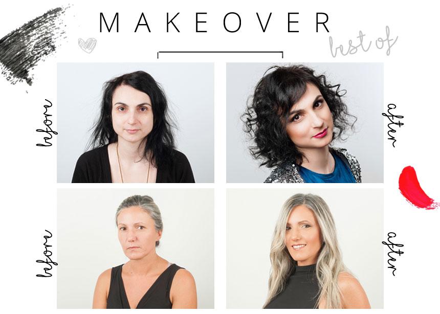 Τα καλύτερα make over της χρονιάς που πέρασε! Γίνε η επόμενη πρωταγωνίστρια! | tlife.gr
