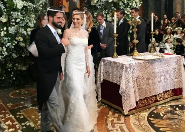 Mαριάννα Γουλανδρή – Φίλιππος Λαιμός: Λαμπερός γάμος και δεξίωση στο Λονδίνο! [pics,vid] | tlife.gr