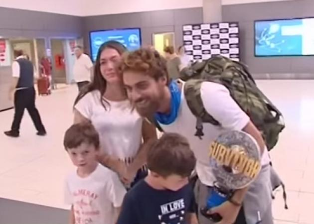 Survivor: Κοσμοσυρροή για την άφιξη του Μάριου Πρίαμου στην Κύπρο! Video | tlife.gr