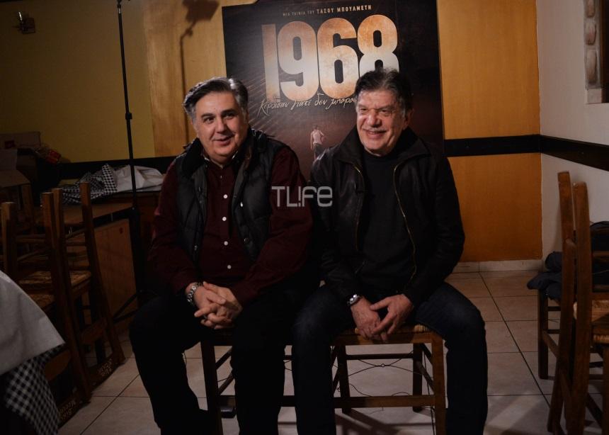 Ιεροκλής Μιχαηλίδης – Γιάννης Βούρος: Μιλούν για τη συμμετοχή τους στην ταινία για την ΑΕΚ | tlife.gr