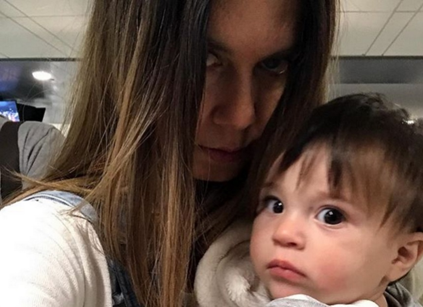 Κατερίνα Μουτσάτσου: Είναι ξετρελαμένη με τα πρώτα βήματα του γιου της!   tlife.gr