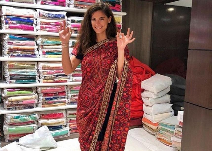 Χριστίνα Μπόμπα: Το νέο στυλ που απέκτησε στην Ινδία! [pics,vid] | tlife.gr