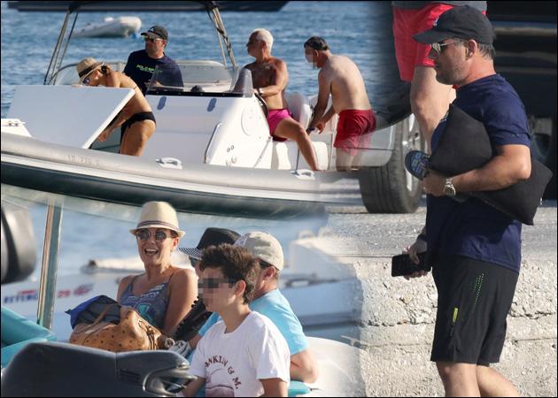 Άδωνις Γεωργιάδης – Ευγενία Μανωλίδου: Διακοπές στην Μύκονο με γνωστό Έλληνα δημοσιογράφο! [pics] | tlife.gr