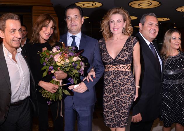 Carla Bruni: Επώνυμες παρουσίες στη συναυλία της στο Παλλάς! [pics,vids]