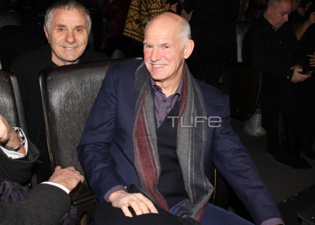 Γιώργος Παπανδρέου: Στο θέατρο για να δει την Δέσποινα Βανδή! [pics]