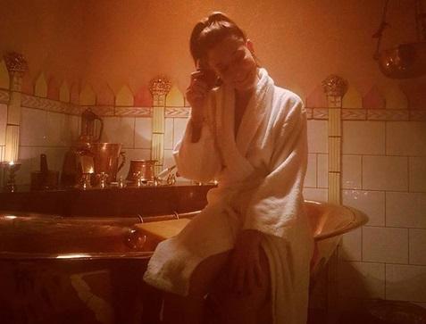 Κατερίνα Παπουτσάκη: Περνά ένα ξέγνοιαστο μεσημέρι στο spa! | tlife.gr