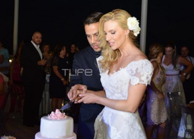 Χριστίνα Αλούπη – Κωνσταντίνος Κέφαλος: Το γαμήλιο party τους! [pics]