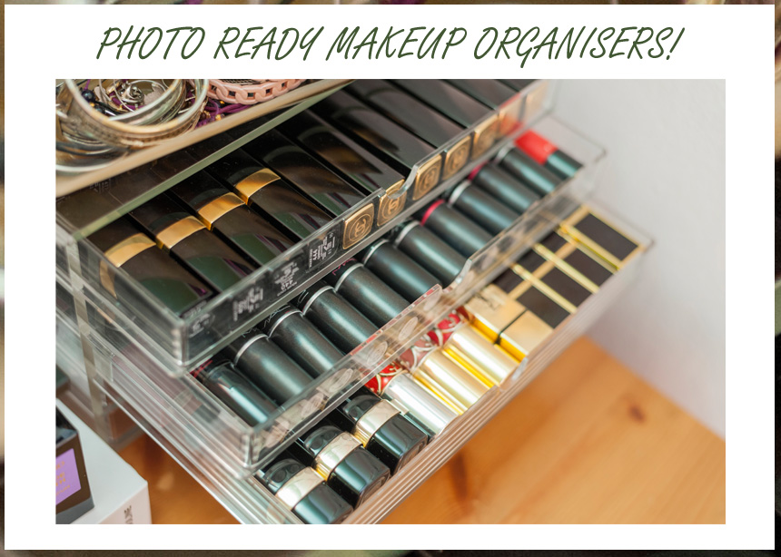 Makeup organizers για να ανεβάζεις τις τέλειες φωτογραφίες στο instagram! | tlife.gr
