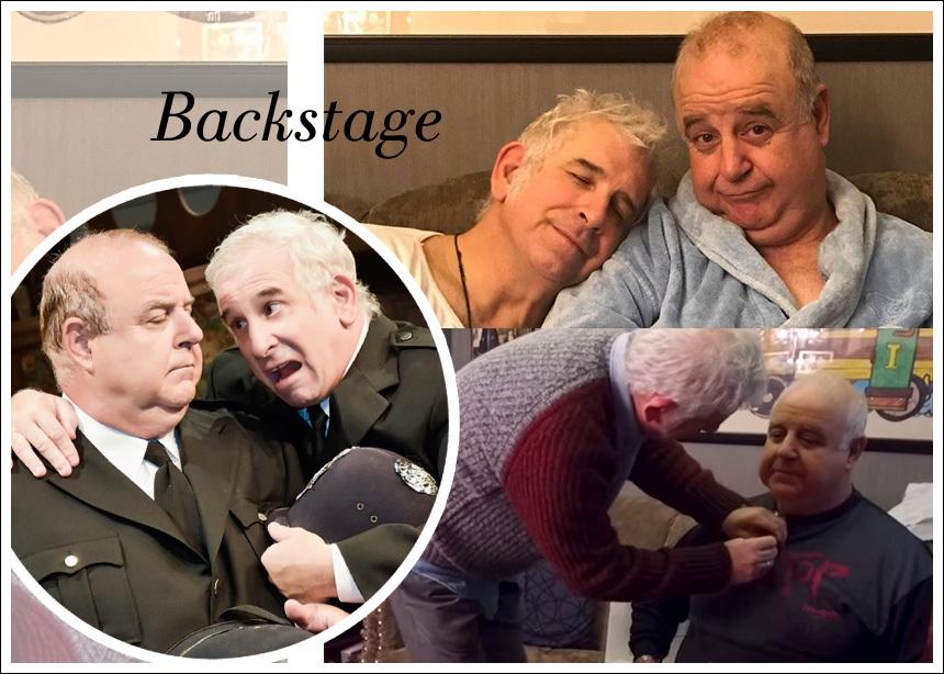Ο Πέτρος Φιλιππίδης και ο Παύλος Χαϊκάλης, όπως δεν τους έχεις ξαναδεί! Το TLIFE, στα καμαρίνια του θεάτρου Μουσούρη! VIDEO | tlife.gr