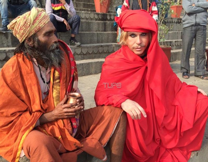 Τρύφωνας Σαμαράς: Γιατί ντύθηκε… Ινδός μοναχός! Φωτογραφίες | tlife.gr