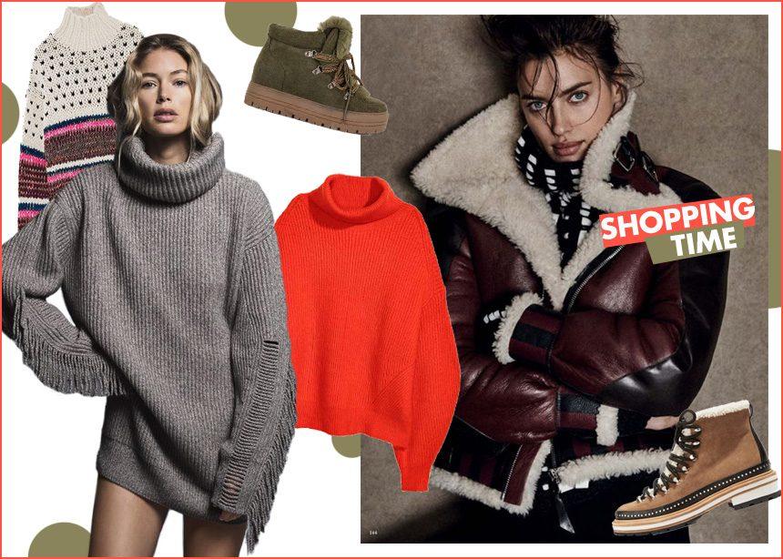 Τζάκετ, παπούτσια, πουλόβερ: Όλα όσα χρειάζεσαι για να αντιμετωπίσεις το κρύο με στιλ! | tlife.gr