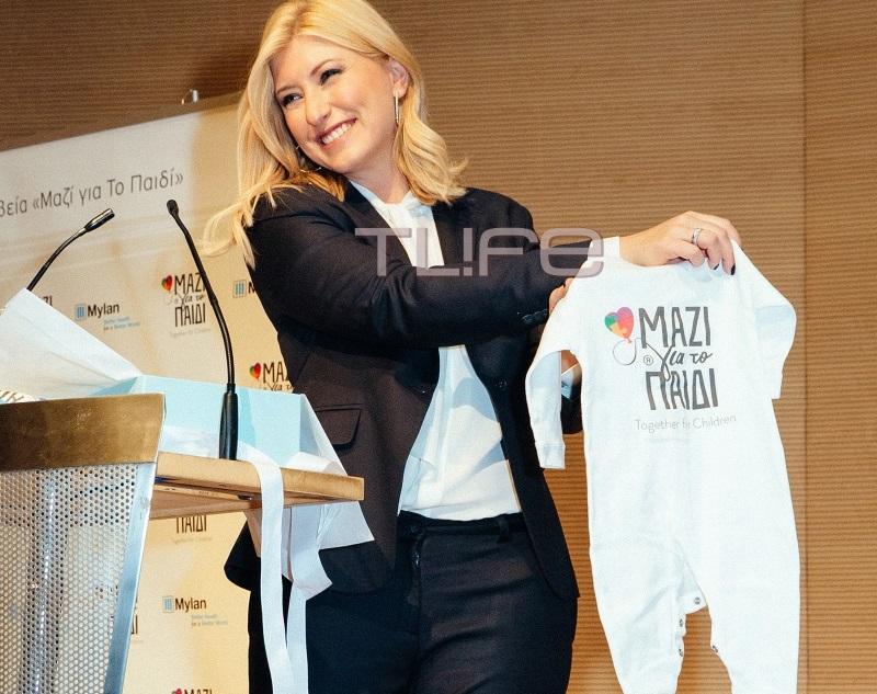 Σία Κοσιώνη: Η εκδήλωση της ένωσης «Μαζί για το παιδί» και το δώρο έκπληξη για τον γιο της! | tlife.gr
